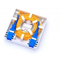 Buy cheap PC Or ABS Material Enterprise Security Network , 2 Core Fiber Distribution Box product