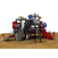 Outdoor Toys Structures Type kids plastic multi playgrounds  exercise equipment