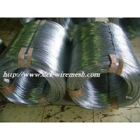 Buy cheap Hot Dipped Galvanized Steel Wire /Oval Fence Wire 2.4x3.0mm product