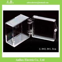 Buy cheap Display Gifts Jewelry 4x4 PC Clear Plastic Enclosure Box product