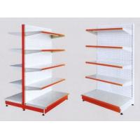 Buy cheap White 5×1000 mm Layers Shelf Metal Display Shelf Supermarket Display Stands product