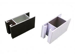 Buy cheap White Black Powder Coating Aluminum Thermal Break Window Profiles product
