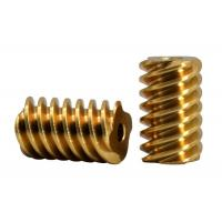 Buy cheap Customized Small Brass Pinion Gear  4 Lead  DP 48 C36000  For Gear Motor product