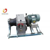 Buy cheap 3T 5T Electric Gas Engine Powered Winch For Cable Pulling In Line Construction product