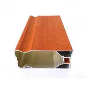 Buy cheap Customized Shape 6m Wood Grain Aluminium Profiles product