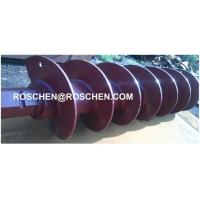 Buy cheap Frost and Solid Auger Drilling Difficult Soils with Hammer Rotation product
