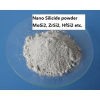 Buy cheap High Purity Metal Powders Nano Silicide Powder MoSi2 , ZrSi2 , HfSi2 Produced By LICVD product