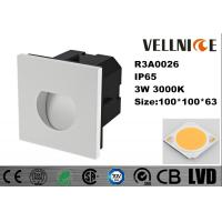 Buy cheap Fashion IP65 Aluminum Alloy Outdoor Wall Mounted Lights 100 * 100 * 78mm 3000K from wholesalers
