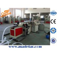 PVC/PE/PP Single Wall Corrugated Pipe Production Line