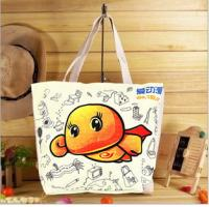 High quality 100% cotton canvas shopping bag