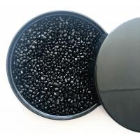 China Easy Flow Carbon Black Masterbatch Recycled Plastic Pellets Raw Materials on sale
