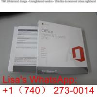 Quality Original Office 2016 Home And Business / Office 2016 Professional Plus Server for sale