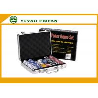 Travelling Promotional Free Gifts  200 pcs 11 G Poker Chips Sets For Family Manufactures
