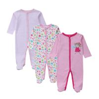 Buy cheap Customized Color Soft Infant Baby Clothes Comfortable Cotton Baby Garment grils product