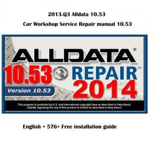 Buy cheap ALK 2013.Q3 Auto repair software Alldata 10.53 Workshop manual product