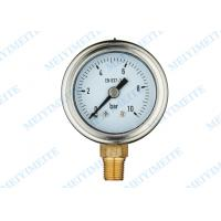 Buy cheap Professional High accuracy Hydraulic Pressure Gauge Manometer 40mm Size product