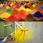 Buy cheap Anti Corrosion Glossy Polyester Epoxy Powder Coating Spray RAL 1019 product