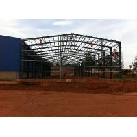 Buy cheap Wide Span Prefab Warehouse Building , Steel Warehouse Buildings With CE Standard product