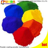 Buy cheap Smooth Surface Polyester Powder Coating , Bonding Silver Powder Coat For Metal Paint product