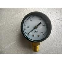 Buy cheap 2.5 Inch ( 63mm ) Steel Black Dry Pressure Gauge With Shrink Bezel product
