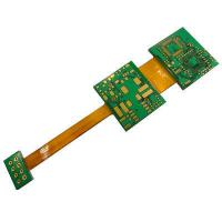 Buy cheap Customized Rigid Flex PCB for cellphone LCD display flex rigid pcb Flex circuit from wholesalers