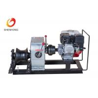 Buy cheap 3 Ton Petrol Gas Engine Powered Winch 1 Year Warranty For Power Construction product