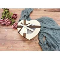 Buy cheap Special Chocolate Flower Cardboard Box Packaging Heart Shaped With Window product