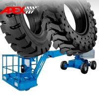 Quality APEX Boom Lift Solid Tire for 12, 15, 16, 20, 24 inch Solid Tyre for sale