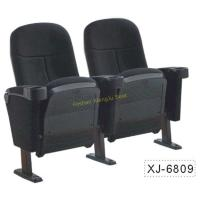 Buy cheap Foldable Church Cinema Home Theater Seating Chairs With Flame Retardant Fabric from wholesalers