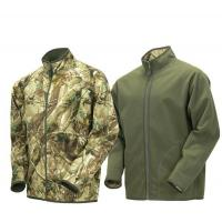 Reversible Hooded Camouflage Hunting Suit Game Fleece Camo Lightweight