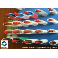 Buy cheap 0.8 - 1.6 mm Rigid Thick Walled Copper Pipe with High Temperature 120℃ Flame Retard Function product