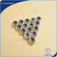 Buy cheap DIN985 White / DIN 982 Steel Hex Nut Self Lock Nut High Precision Free Samples product