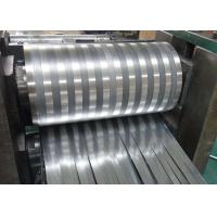 Buy cheap 8000 Series Mill Finished Aluminum Fin Strips Heat Exchange Materials For Air Dryer product