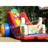Kids Outdoor Playground Funny Game Inflatable Slide Equipment for rent, commercial