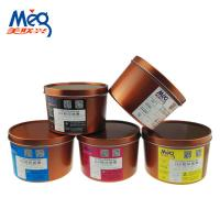 Buy cheap SGS ROHS UV LED Offset Ink 385-395nm Wavelength For Paper / Plastics / Metal from wholesalers