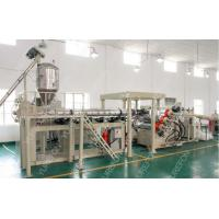 China Stable Output Plastic Sheet Extrusion Line For Thermoforming Transparent PP PS PET on sale