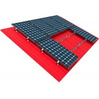 Buy cheap 10kw Solar Panel Roof Mounting Systems Pitched Corrugated Trapezoidal Standing Seam PV Structure product