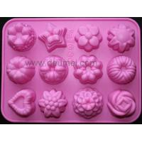 12-Flower Silicone Cake Chocolate Craft Candy Baking Mold/Candy Mould/Cake Mold