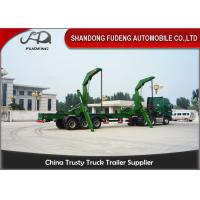 Buy cheap 40 Foot Side Loader Truck Trailer ,  Self Lift Trailer Separate Diesel Engine Available product