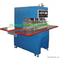 Buy quality Automatic Plastic Tarpaulin Welding Machine 10kw For Awning / Film Fabric Welding at wholesale prices