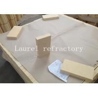 Buy quality Great Bulk Density High Alumina Brick For Ceramic Tunnel Kiln And Steel Furnaces at wholesale prices