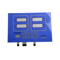 Buy cheap PET / Silicon Rubber Backlit Membrane Switch With LED for 3C Electronics product