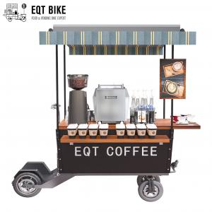 Buy cheap Multifunctional Electric Street Coffee Vending Cart With 48V Battery product