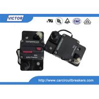 Buy cheap Manual On Off Reset DC Bussmann Circuit Breaker Switchable Change SAE J1117 product