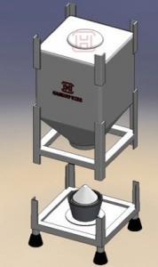 Buy cheap 150L Bulk Storage Silos product