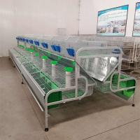 Buy cheap Hot-dip Galvanized Rabbit Poultry Farming Equipments Cheap Female Rabbit Battery Cage For Sale product