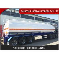 Buy cheap 9000 Gallon Fuel Tanker Semi Trailer Optional Dimension High Strength Steel from wholesalers