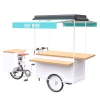 Buy cheap Multi - Functional Bike Food Cart With Large Product Operation Space product