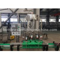 Buy cheap Milk / Juice / Coconut Water Canning Machine / Beverage Can Filling Machine product