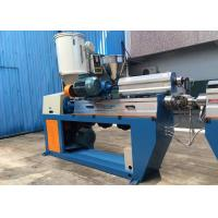 Buy cheap Fully Automatic XLPE Wire Extruder Machine With Caterpillar / Take Up Machine product